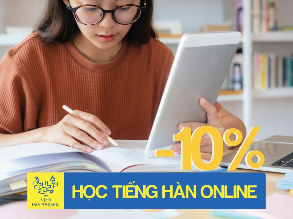 Tiếng Hàn online - học trực tiếp với Giáo viên