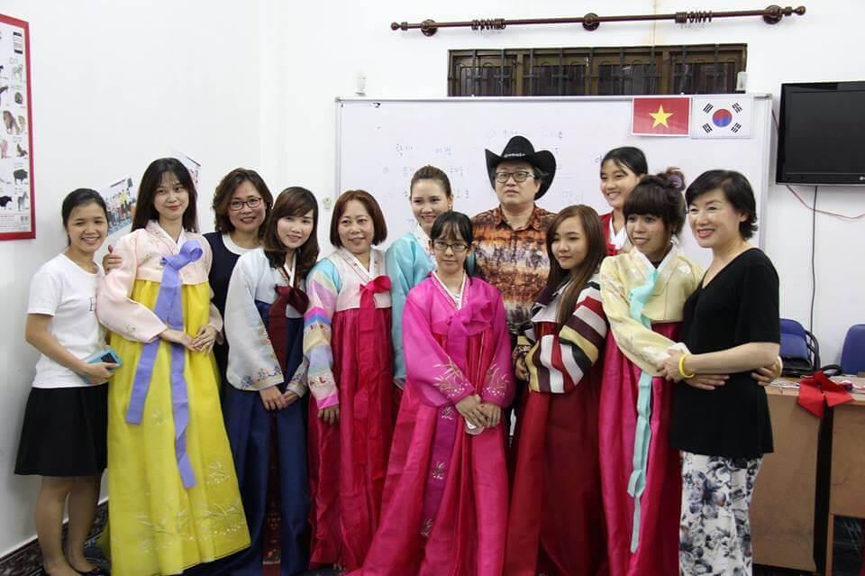 Từ Vựng tiếng Hàn tại trung tâm ngôn ngữ quốc tế